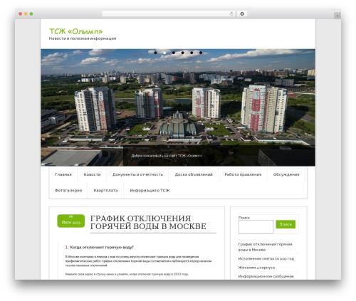 WP theme Contango Pro - tsgolimp.ru