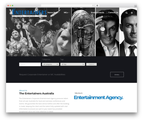 WP theme Pitch - theentertainers.com.au