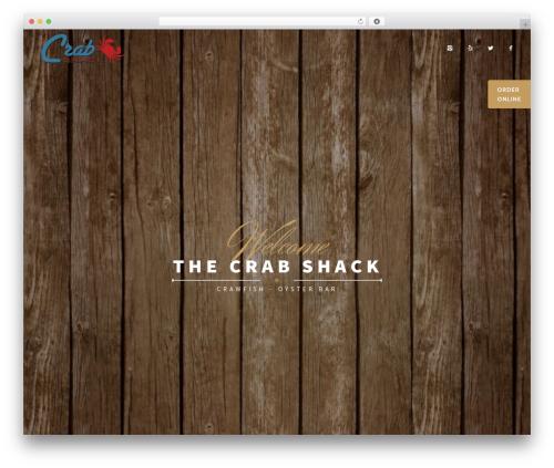 WP theme Rosav - tcrabshack.com