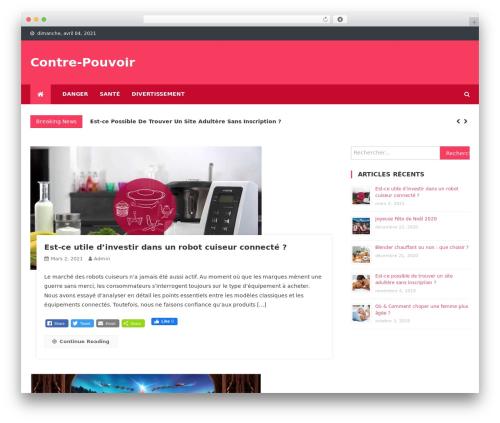 News Vibrant WordPress theme - contre-pouvoirs-le-film.com