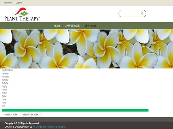 NJtherapy WordPress blog theme