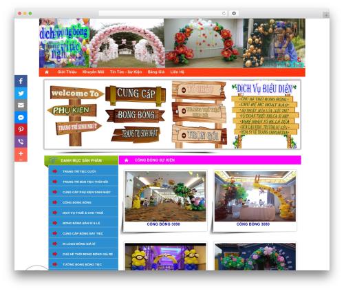 Theme WordPress System - trangtribongbongnghethuat.com