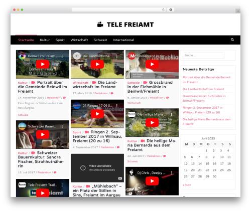 Latest top WordPress theme - tele-freiamt.ch