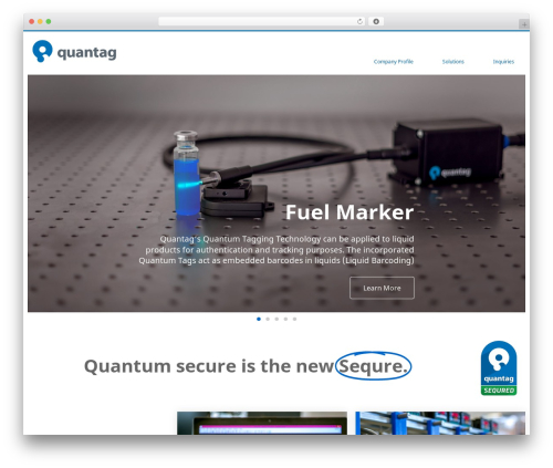 Singularity best free WordPress theme - quantagnano.com