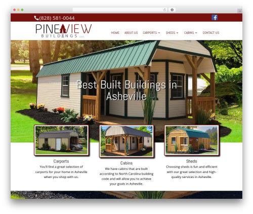 Template WordPress Divi - pineviewbuildingswannanoa.com
