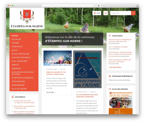 WordPress theme TownPress - etampes-sur-marne.com