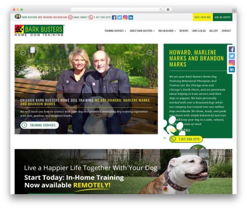 bigdogbroadcast2 WordPress template - dogtrainingchicagoland.com