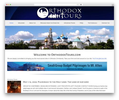 Enterprise Pro Theme WordPress theme - orthodoxpilgrimages.com