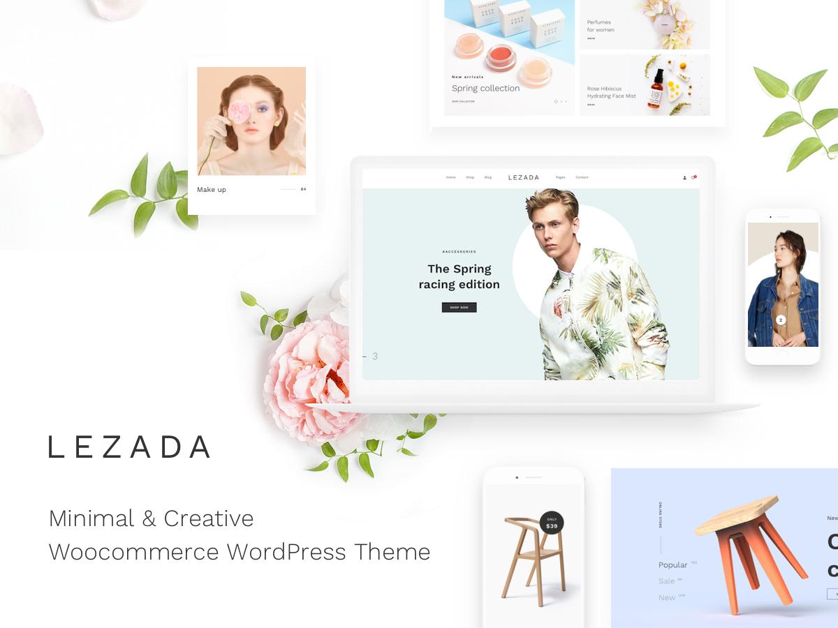 Lezada WordPress ecommerce theme