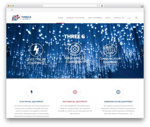 Theme WordPress California - threeg-eg.com