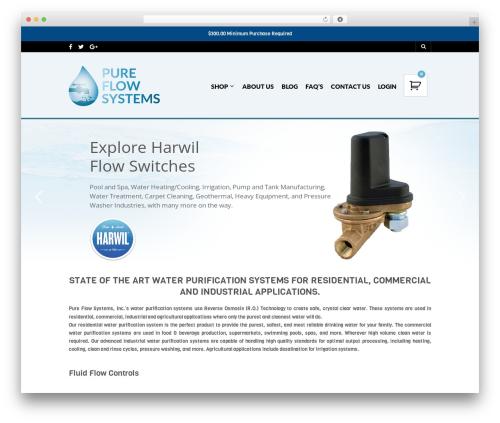The Retailer WP template - pureflowsystems.com
