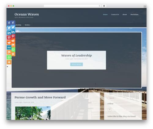 WP template BlueBird - oceanswaves.com