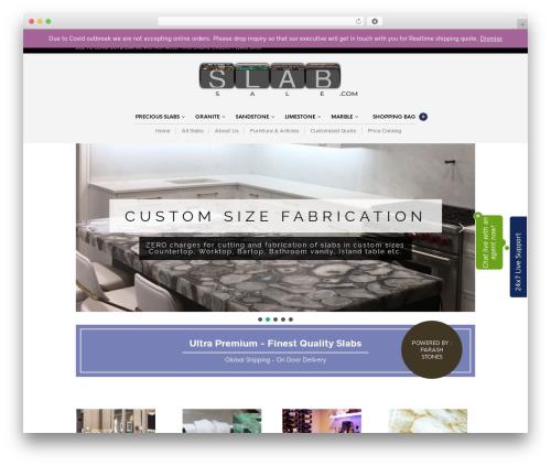 WP template The Retailer - slabsale.com