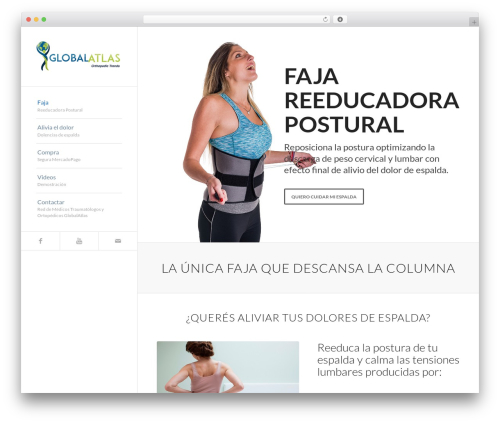 Enfold theme WordPress - faja-espalda-sana.com
