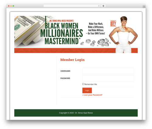 Lifestyle Pro Theme best WordPress theme - blackwomenmillionairesmastermind.com