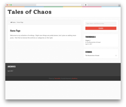 LiveBlog WordPress theme download - harbingerofchaos.com