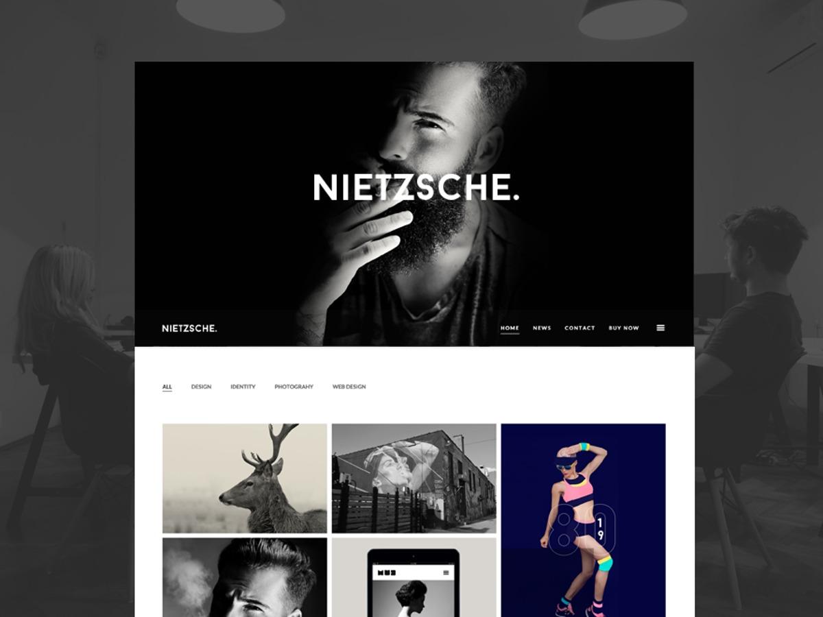Nietzsche Child template WordPress