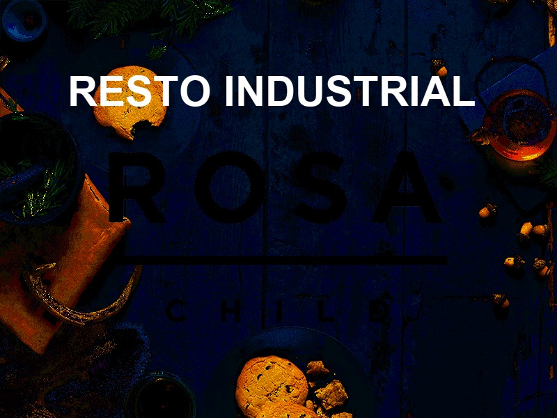 Rosa Resto Industrial WordPress ecommerce theme