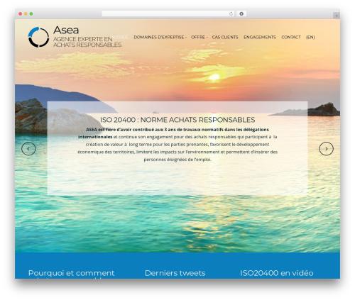 Organic Purpose theme WordPress by Organic Themes ...