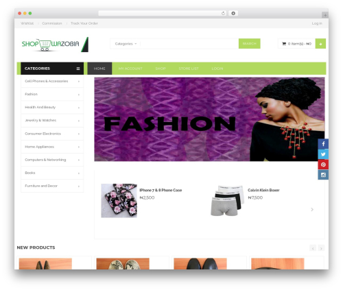 WordPress theme BigBoom - shopwazobia.com