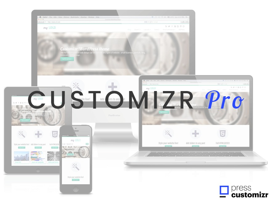 Customizr Pro premium WordPress theme