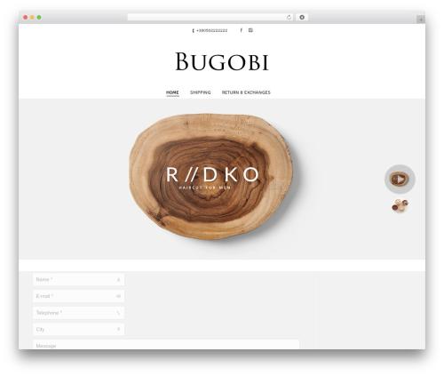 The7 best WordPress theme - bugobi.com
