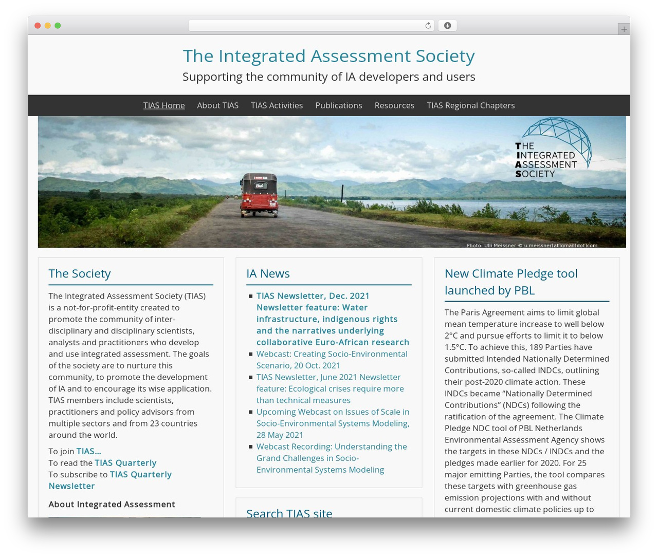BlueGray template WordPress free - tias-web.info