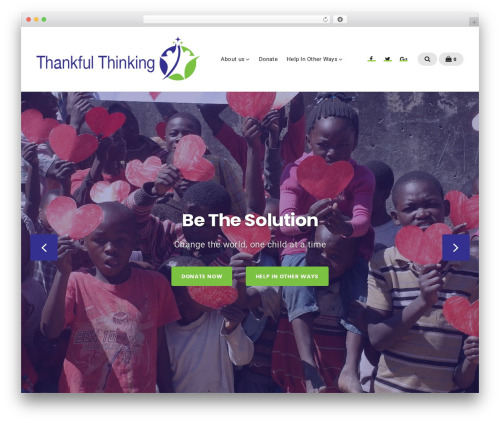 Businessx template WordPress free - thankfulthinking.org