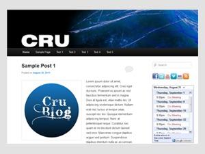 Cru WordPress blog theme