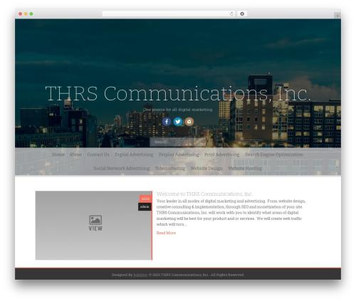 Freak premium WordPress theme - thrscommunications.com