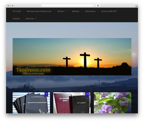 Garfunkel template WordPress - tsodrano.com