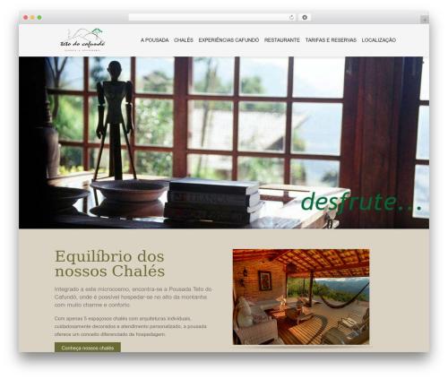 Hotec WordPress theme - tetodocafundo.com.br