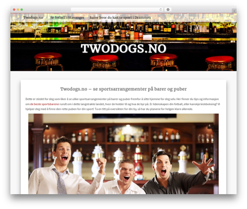 MayaSilk WordPress template free download - twodogs.no