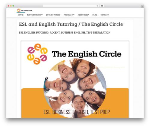 Sensational by MyThemeShop WordPress ecommerce theme - theenglishcircle.com