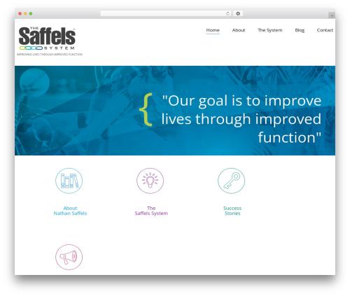 Template WordPress cherry - thesaffelssystem.com