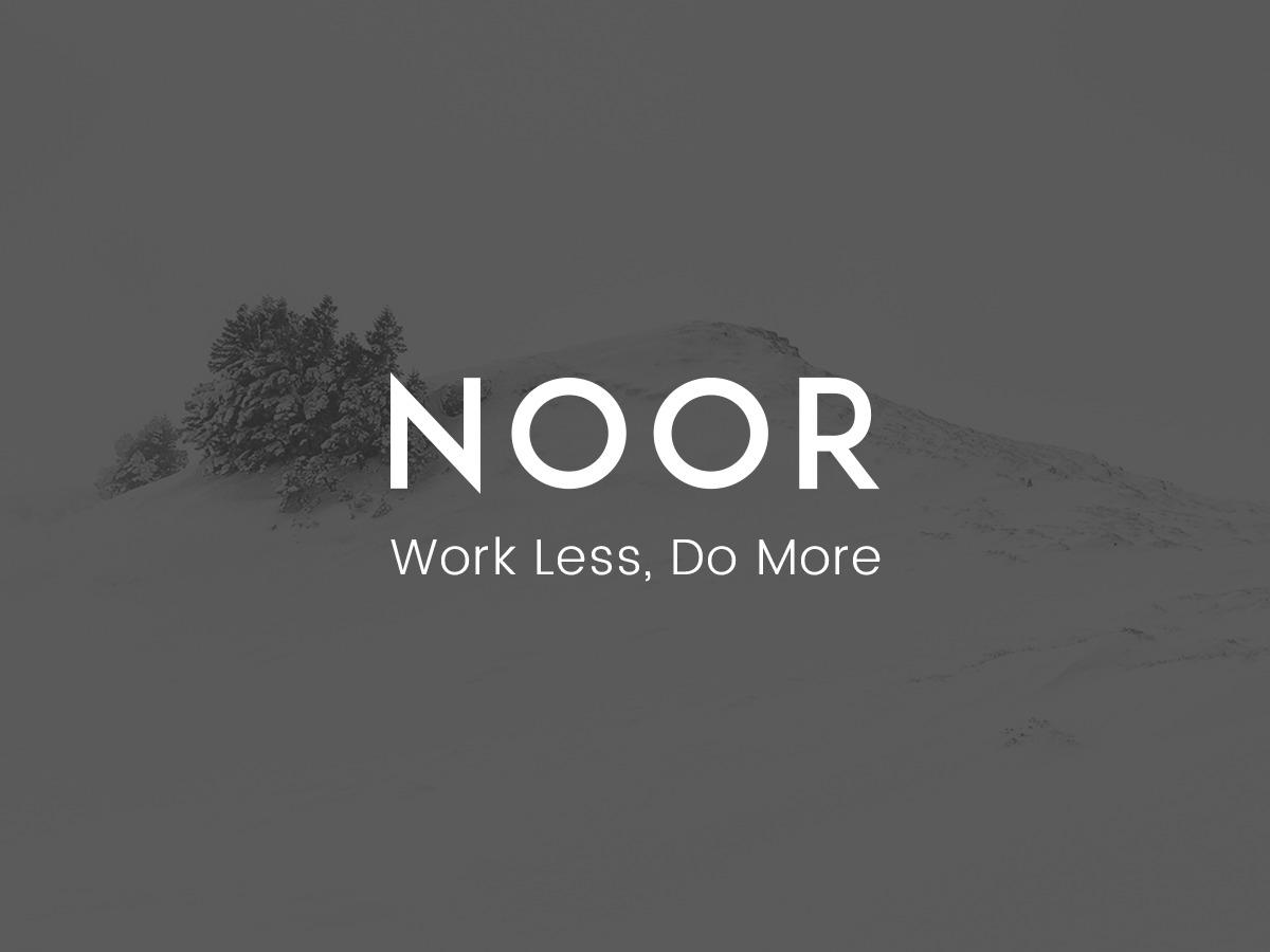 Template WordPress Noor