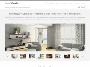 Template WordPress Sevenwonders