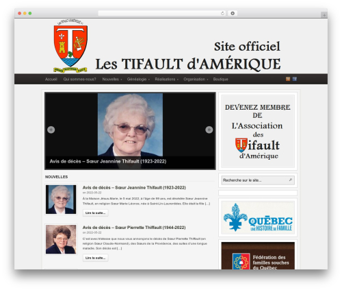 Theme WordPress Arras - tifault.org