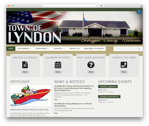 WordPress new-royalslider plugin - townoflyndon.com