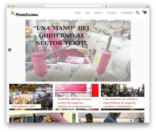 ShoperaPRO WordPress ecommerce theme - pedidocolombia.com