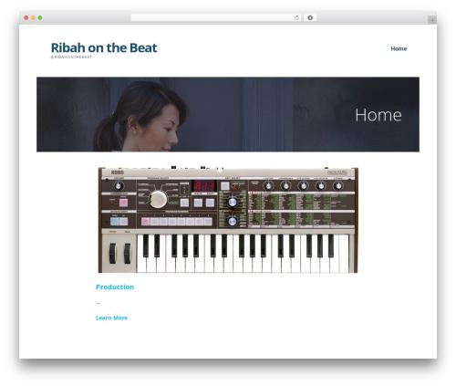 Template WordPress Ascension - ribahonthebeat.com