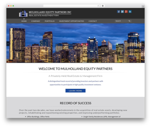 Theme top WordPress theme - mulhollandequity.com