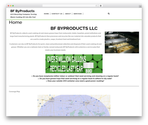 Theme WordPress VW Corporate Business - bfbyproducts.com