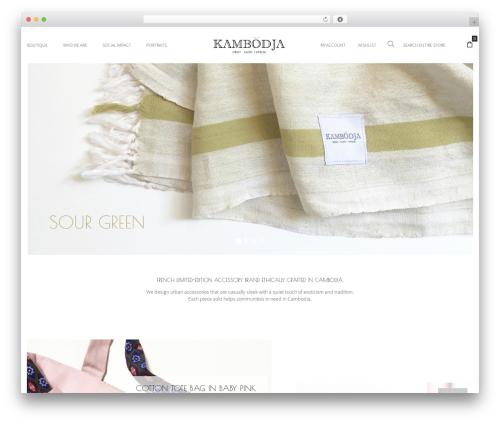 WordPress theme Oasis - kambodja-givingbrand.com