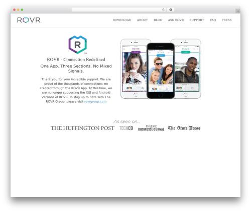 Applay best WordPress theme - gorovr.com