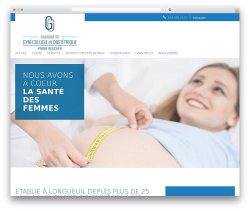 Best WordPress template Agence Oz Demo - gynecopierreboucher.com