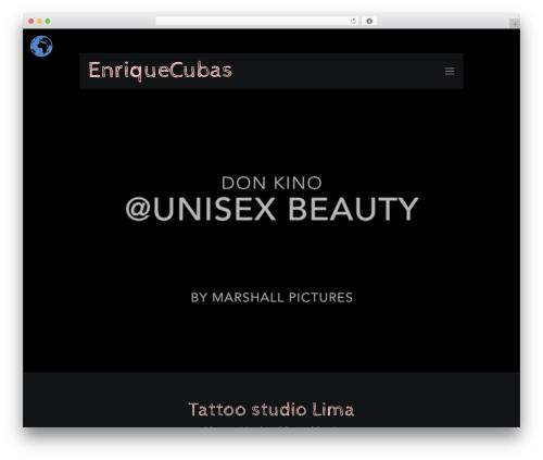 Betheme WordPress theme design - enrique-cubas.com