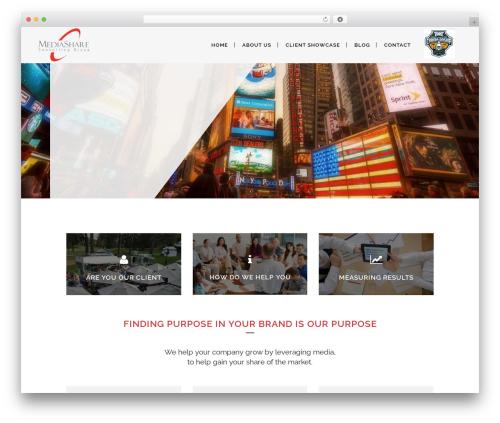 Bridge theme WordPress - mediashareconsulting.com