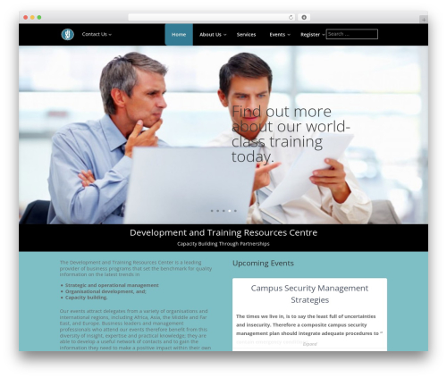 Divi WordPress website template - dtrcentre.com