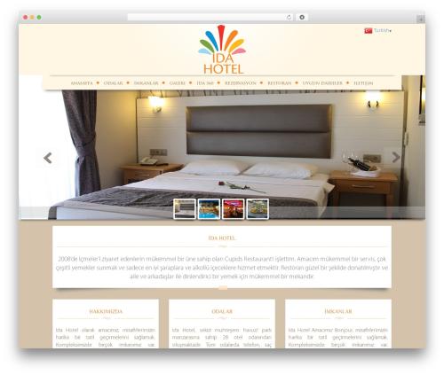 ida best hotel WordPress theme - idahotelicmeler.com